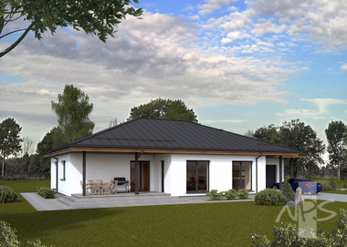House project Beata is a modern, economical, A + class house