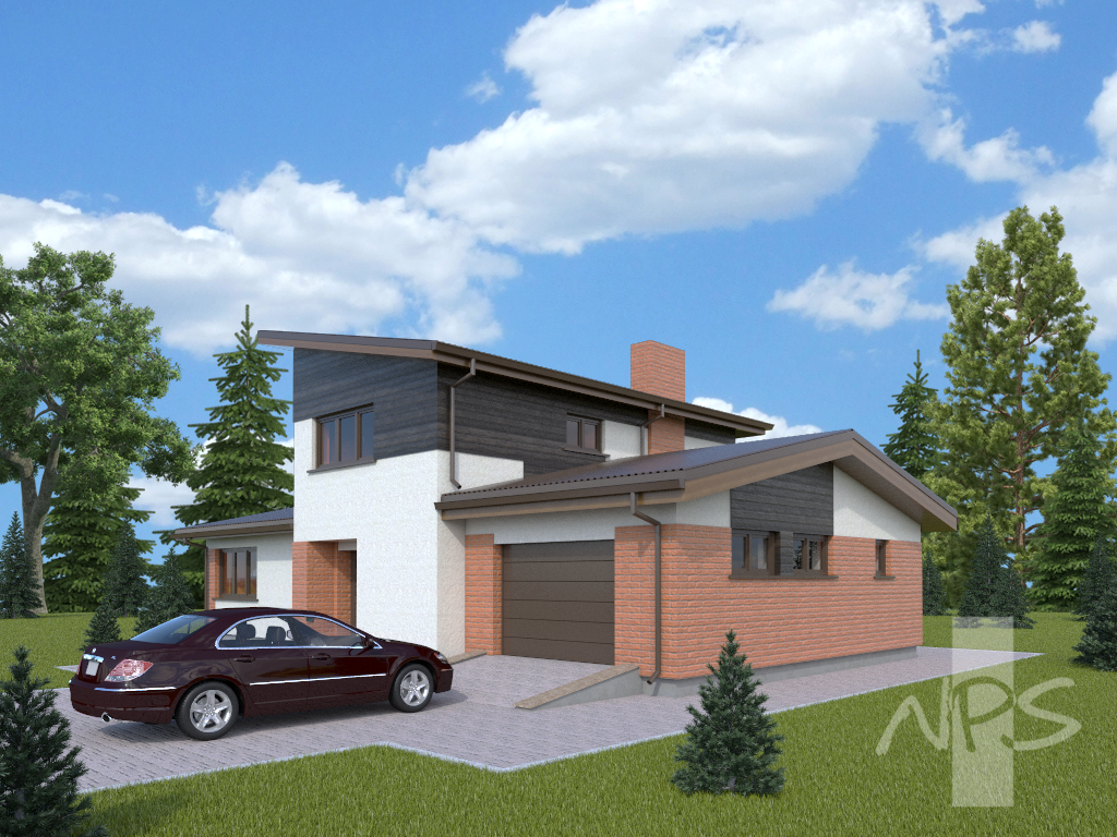 wo-storey house project gidijus  NPS Projects - ^