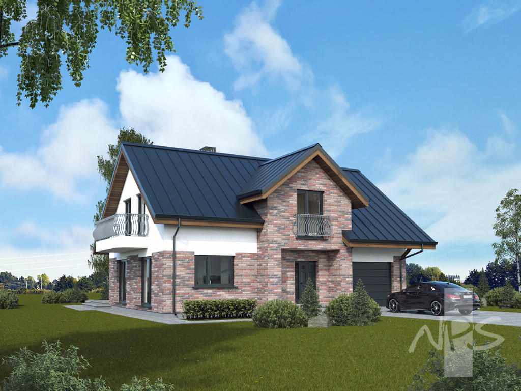 Economical, Appealing, A + Energy Efficiency Class Two Storey Four Room  House Lauras