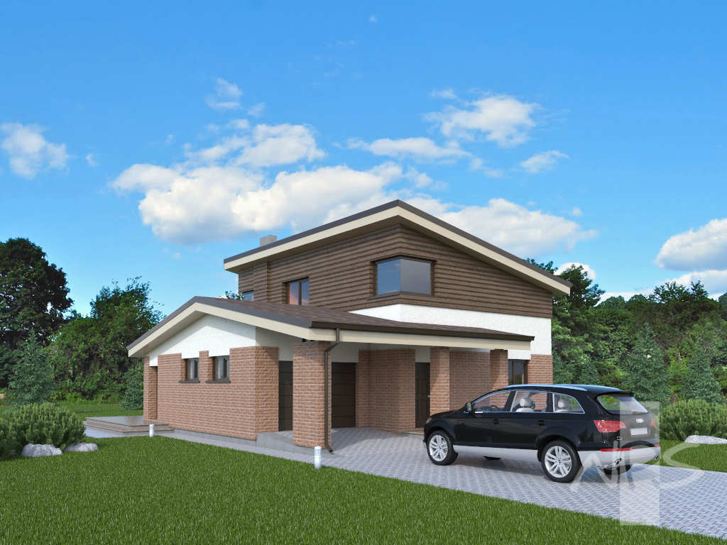 Two storey house project aidas nps projects for Project house