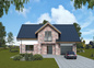 Economical, appealing, A + energy efficiency class two-storey four-room house Lauras